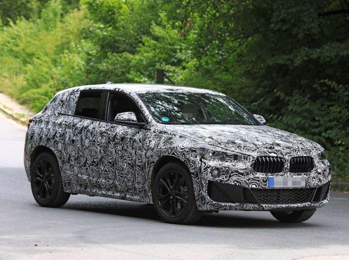BMW X2 2018, le prime foto spia del SUV coupé - Foto 1 di 14