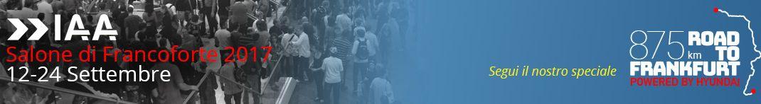 Elenco degli eventi e delle presentazioni al Salone dell'Auto di Francoforte 2017