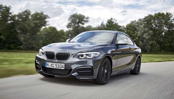 Nuova BMW Serie 2 Coupè restyling, prezzi e dotazioni - Foto 9 di 29