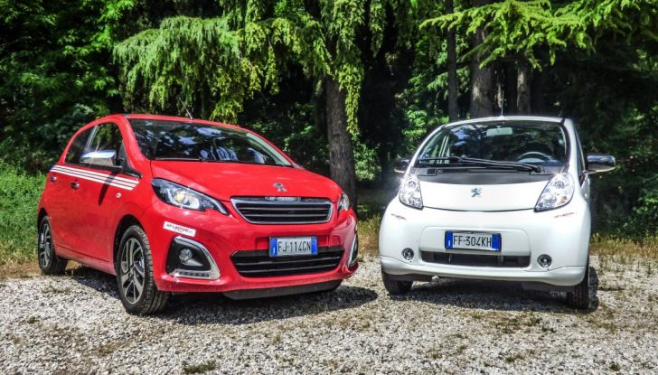 Test Peugeot 108 Collection VS Peugeot iON: Elettrica contro Citycar - Foto 17 di 39