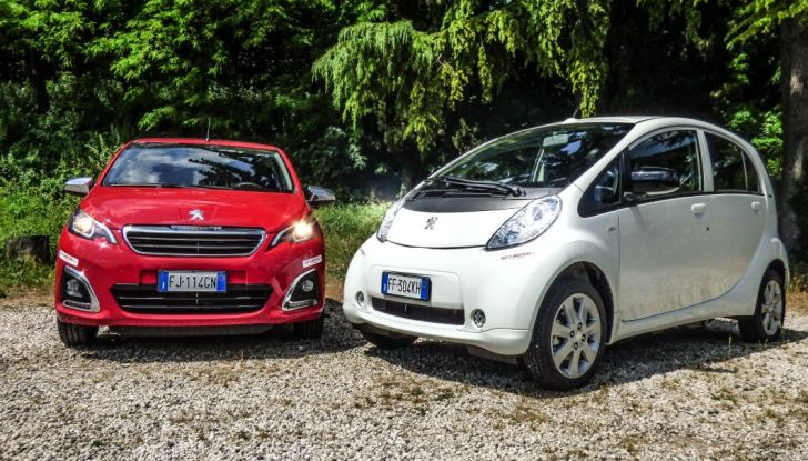 Test Peugeot 108 Collection VS Peugeot iON: Elettrica contro Citycar - Foto 35 di 39