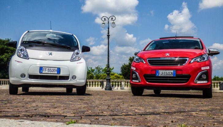 Test Peugeot 108 Collection VS Peugeot iON: Elettrica contro Citycar - Foto 26 di 39