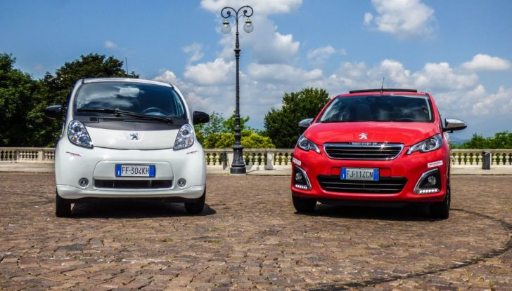 Test Peugeot 108 Collection VS Peugeot iON: Elettrica contro Citycar - Foto 2 di 39
