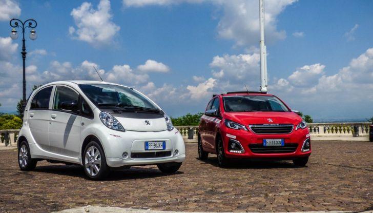 Test Peugeot 108 Collection VS Peugeot iON: Elettrica contro Citycar - Foto 3 di 39