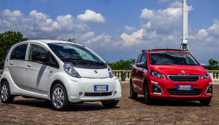 Test Peugeot 108 Collection VS Peugeot iON: Elettrica contro Citycar - Foto 14 di 39