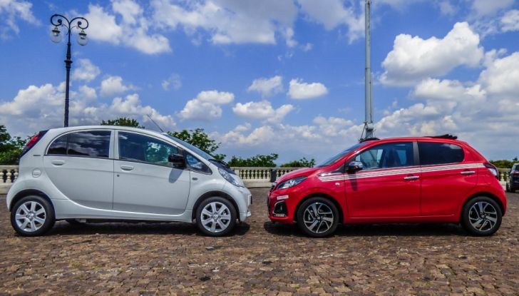Test Peugeot 108 Collection VS Peugeot iON: Elettrica contro Citycar - Foto 15 di 39