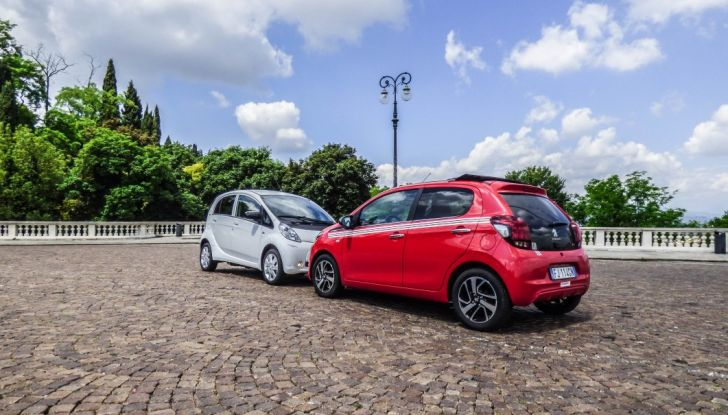 Test Peugeot 108 Collection VS Peugeot iON: Elettrica contro Citycar - Foto 4 di 39