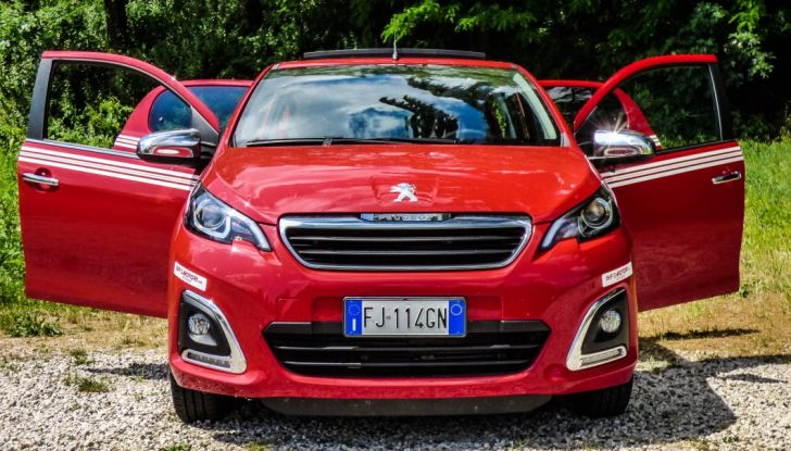 Test Peugeot 108 Collection VS Peugeot iON: Elettrica contro Citycar - Foto 10 di 39