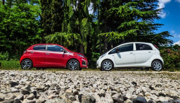 Test Peugeot 108 Collection VS Peugeot iON: Elettrica contro Citycar - Foto 1 di 39