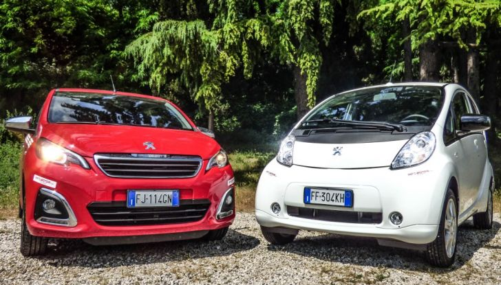 Test Peugeot 108 Collection VS Peugeot iON: Elettrica contro Citycar - Foto 33 di 39