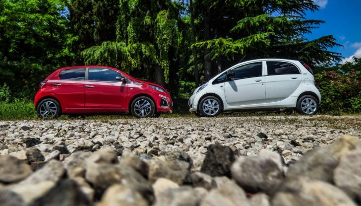 Test Peugeot 108 Collection VS Peugeot iON: Elettrica contro Citycar - Foto 39 di 39