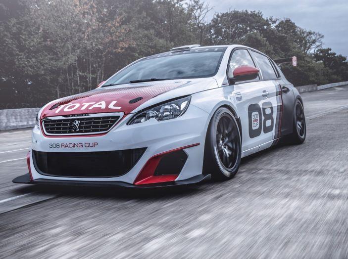 Peugeot 308 Racing Cup debutta nel Campionato Italiano Velocità Montagna - Foto 1 di 2