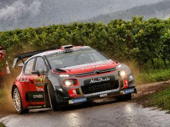 WRC Germania-Giorno 1: Mikkelsen secondo con C3 WRC.