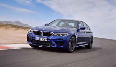 BMW M5 2018: L'urlo del V8 con trazione Xdrive