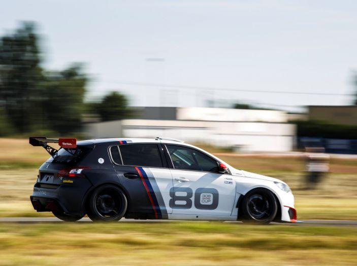 Peugeot 308 Racing Cup debutta nel Campionato Italiano Velocità Montagna - Foto 2 di 2