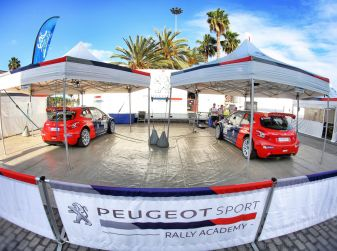 Al Barum Rally riparte il programma europeo di Peugeot Sport