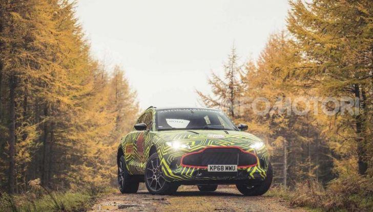 Aston Martin DBX, debutta il SUV di lusso inglese - Foto 7 di 18