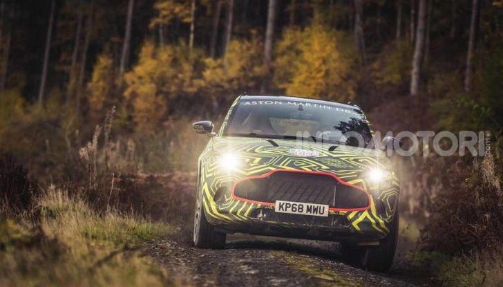Aston Martin DBX 2019: il crossover inglese da 600 CV - Foto 3 di 18