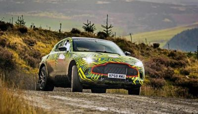 Aston Martin DBX 2019: il crossover inglese da 600 CV