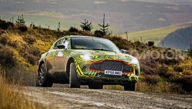 Aston Martin DBX 2019: il crossover inglese da 600 CV - Foto 1 di 18