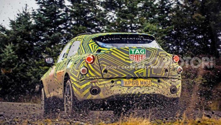 Aston Martin DBX, debutta il SUV di lusso inglese - Foto 8 di 18