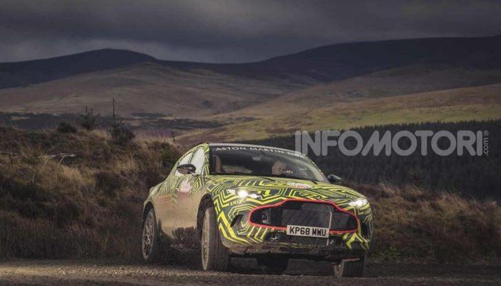 Aston Martin DBX 2019: il crossover inglese da 600 CV - Foto 6 di 18