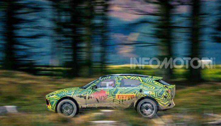 Aston Martin DBX, debutta il SUV di lusso inglese - Foto 4 di 18