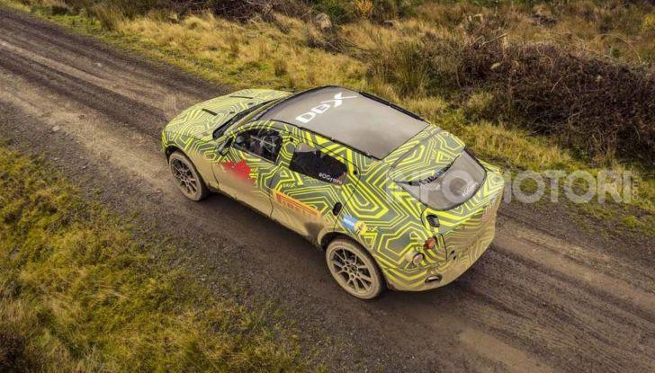 Aston Martin DBX, debutta il SUV di lusso inglese - Foto 2 di 18