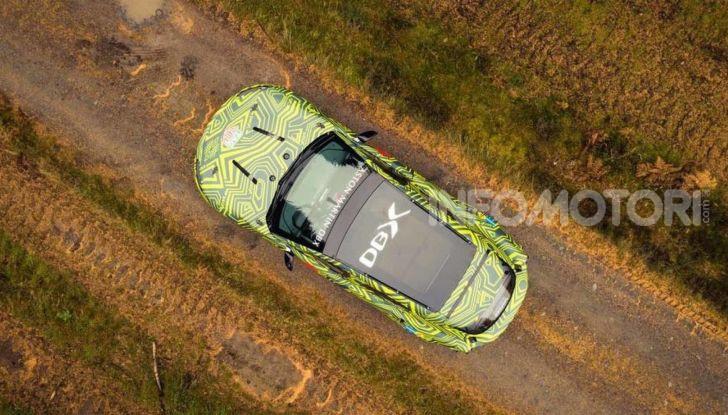 Aston Martin DBX, debutta il SUV di lusso inglese - Foto 5 di 18