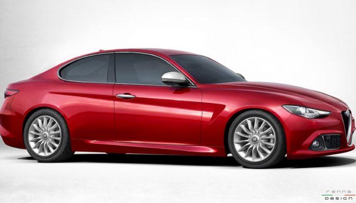 Alfa Romeo Alfetta, il rendering dell'ammiraglia del Biscione - Foto 6 di 6