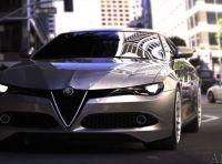 Alfa Romeo Alfetta, il rendering dell'ammiraglia del Biscione