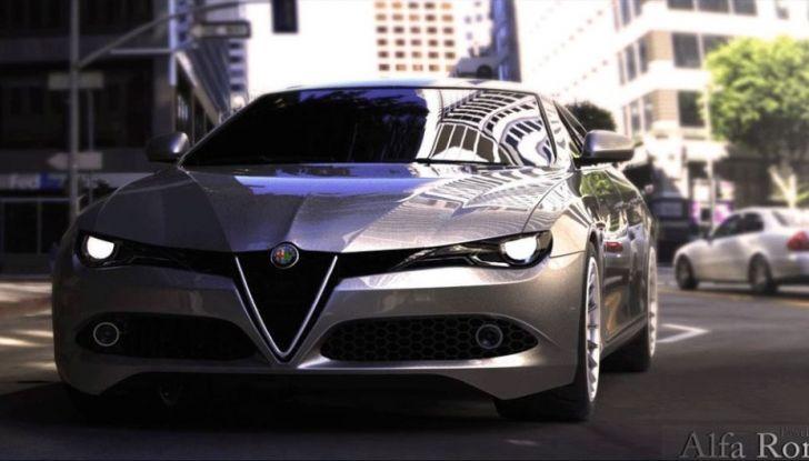 Alfa Romeo Alfetta, il rendering dell'ammiraglia del Biscione - Foto 1 di 6
