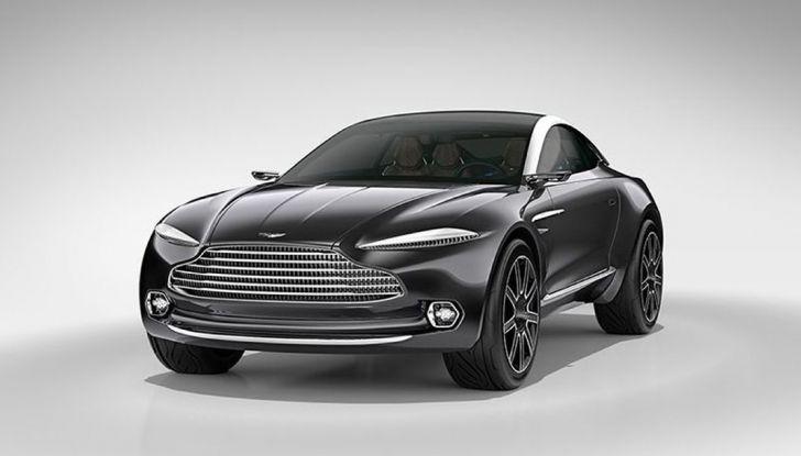 Aston Martin DBX, debutta il SUV di lusso inglese - Foto 10 di 18