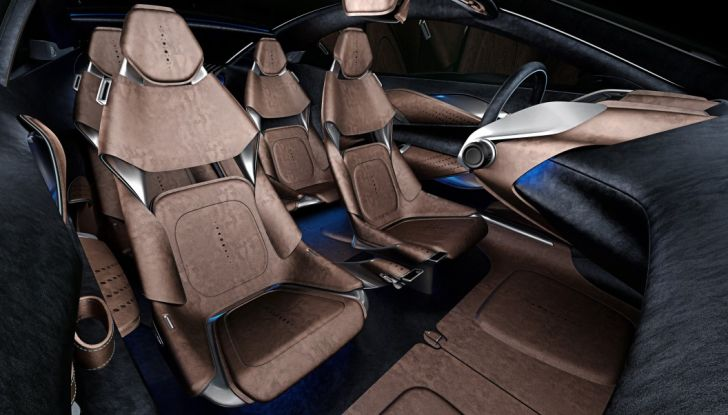 Aston Martin DBX, debutta il SUV di lusso inglese - Foto 11 di 18