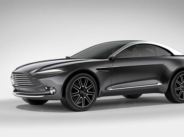 Aston Martin DBX 2019: il crossover inglese da 600CV - Foto 7 di 9