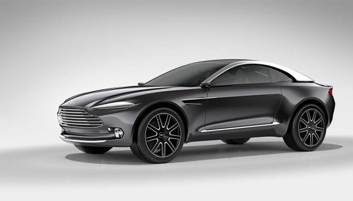 Aston Martin DBX, debutta il SUV di lusso inglese - Foto 16 di 18