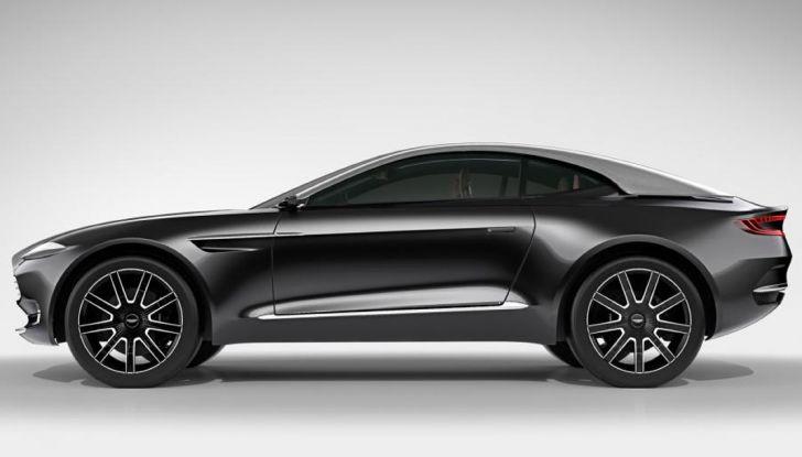 Aston Martin DBX, debutta il SUV di lusso inglese - Foto 17 di 18