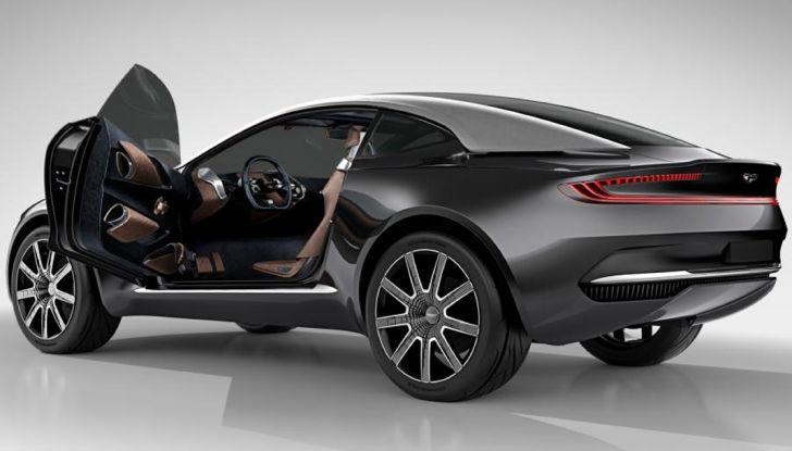 Aston Martin DBX, debutta il SUV di lusso inglese - Foto 14 di 18