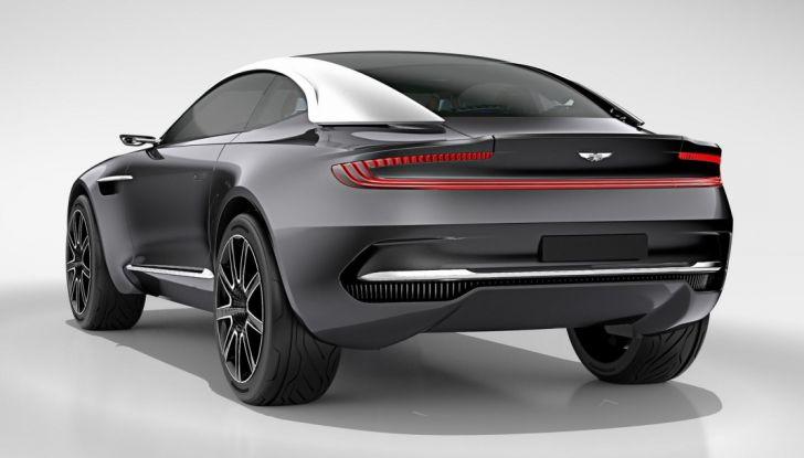 Aston Martin DBX 2019: il crossover inglese da 600 CV - Foto 18 di 18