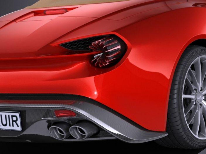 Aston Martin Vanquish Zagato Volante: serie limitata da 99 esemplari - Foto 7 di 10
