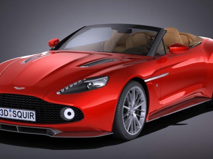 Aston Martin Vanquish Zagato Volante: serie limitata da 99 esemplari - Foto 8 di 10