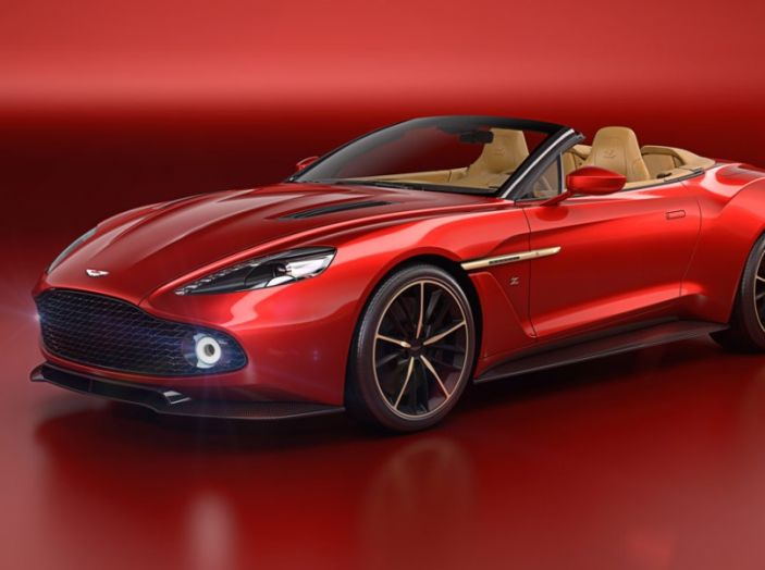 Aston Martin Vanquish Zagato Volante: serie limitata da 99 esemplari - Foto 9 di 10