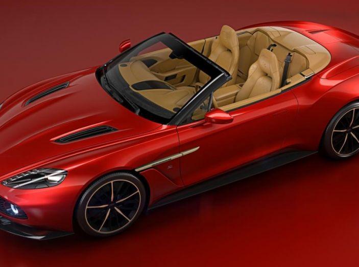 Aston Martin Vanquish Zagato Volante: serie limitata da 99 esemplari - Foto 4 di 10