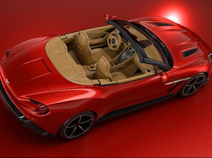 Aston Martin Vanquish Zagato Volante: serie limitata da 99 esemplari - Foto 10 di 10