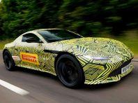 Aston Martin Vantage 2019, immagini e dati ufficiali