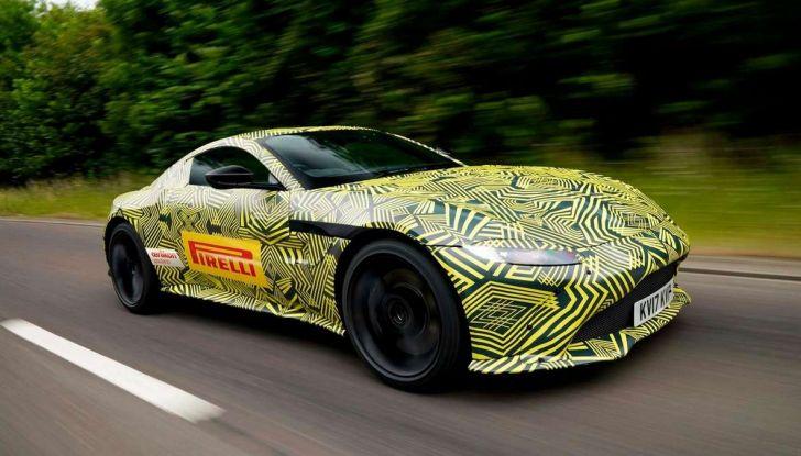 Aston Martin Vantage 2019, immagini e dati ufficiali - Foto 1 di 4