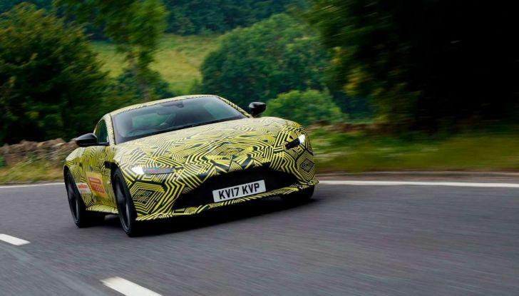 Aston Martin Vantage 2019, immagini e dati ufficiali - Foto 2 di 4