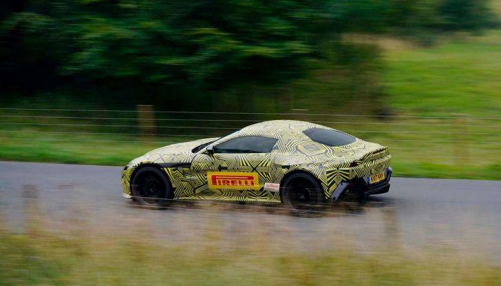 Aston Martin Vantage 2019, immagini e dati ufficiali - Foto 3 di 4