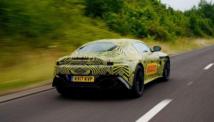 Aston Martin Vantage 2019, immagini e dati ufficiali - Foto 4 di 4