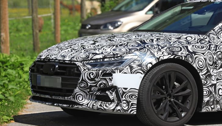 Audi A7, tutta nuova per il 2018 - Foto 14 di 27
